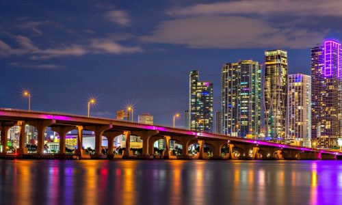 a night out in miami with luxury transportation