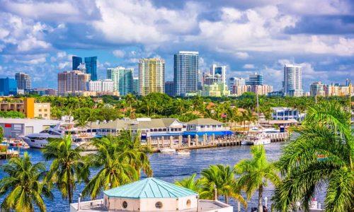 Fort Lauderdale Skyline | 2BeDriven Transportation Services