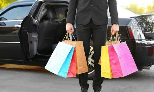 Shopping Spree with Private Transportation | 2BeDriven Transportation Services